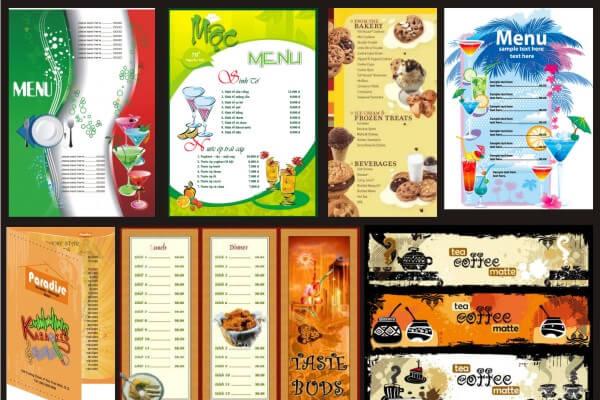 in menu tại phú quốc