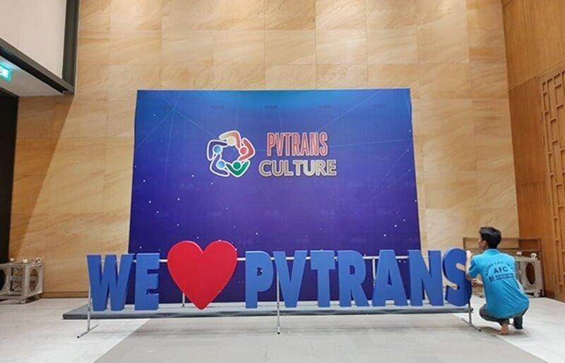 Hình ảnh làm bảng hiệu chữ nổi mica Tổ chức sự kiện tại Phú Quốc