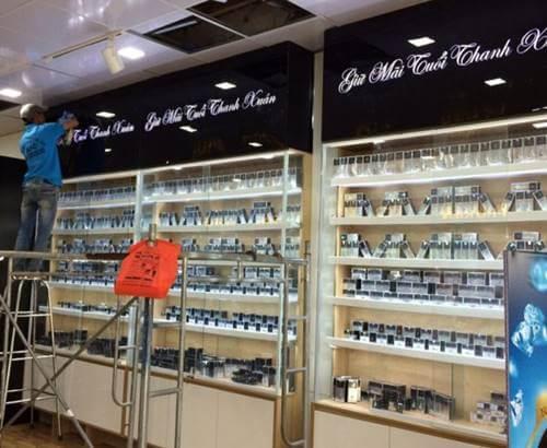 Thiết kế, thi công nội thất Showroom tại Phú Quốc