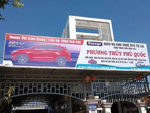 Làm biển bạt quảng cáo tại Phú Quốc