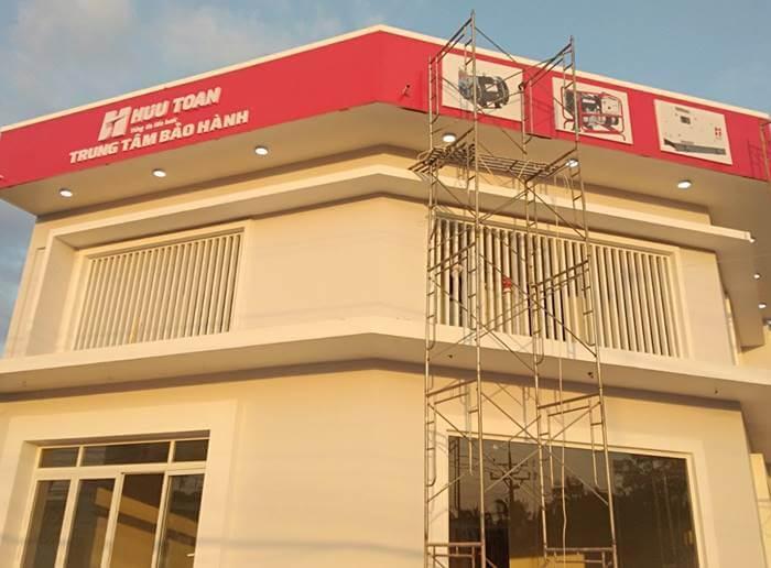 Thi công bảng hiệu Alu - Chữ nổi Mica Hữu Toàn Phú Quốc