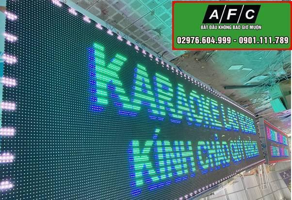 Thi công màn hình Led P10 ngoài trời tại Phú Quốc