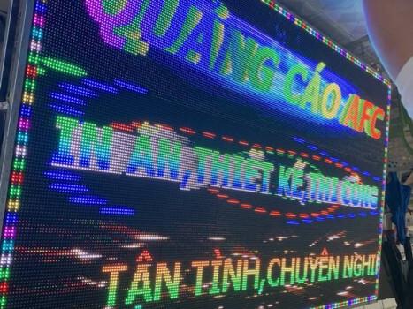 Thiết kế thi công màn hình Led quảng cáo ngoài trời